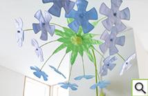 grow.upp Wandelement Blütenhimmel