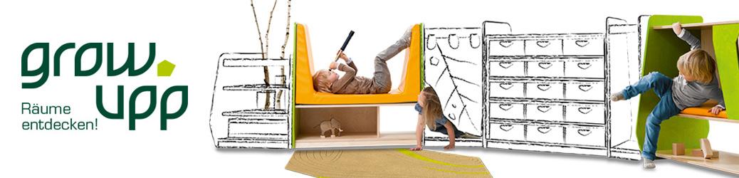 grow.upp – Raumkonzept für den Kindergarten