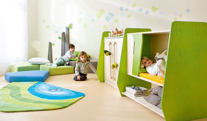 raumkonzepte raumkonzept f r den kindergarten. Black Bedroom Furniture Sets. Home Design Ideas