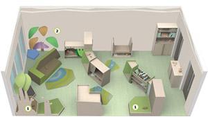 raumkonzepte raumkonzept f r den kindergarten. Black Bedroom Furniture Sets. Home Design Ideas