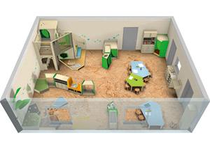 Growupp Raumkonzept Für Den Kindergarten Räume Für Kinder Von 0